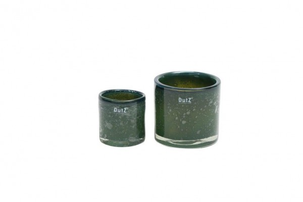 DutZ Votive - Bubbles Darkgreen